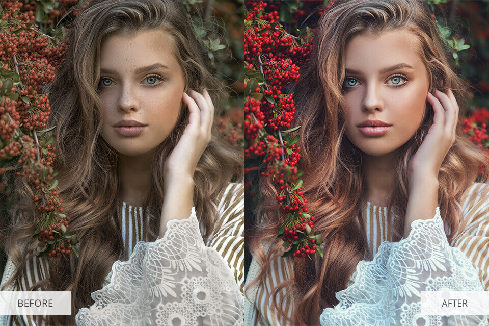 Matte Free Photoshop Actions for Portraits